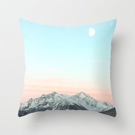 Mountains Landscape Throw Pillow