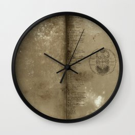 Declaration, a antique paper texture that would look great on a case of any kind. Artist recommends  Wall Clock