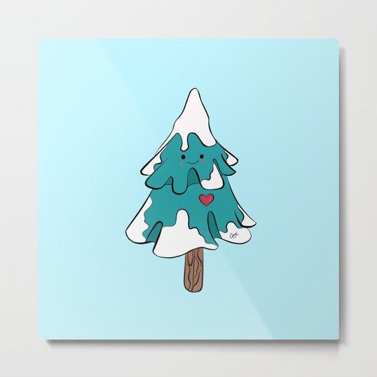 Cute pine tree Metal Print