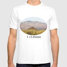 Saguaro National Park Mens Fitted Tee White MEDIUM