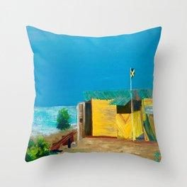 Jamaica. Jamaican Blues Throw Pillow
