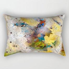 Absract Yellow 332 Rectangular Pillow