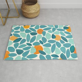 Tropical Mango Tree Rug