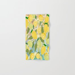 Lemon Song Hand & Bath Towel