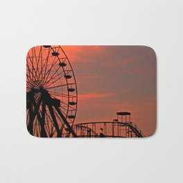 Sundown in Fun Town Bath Mat