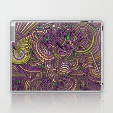 Drawing Meditation - Lilac Laptop & iPad Skin