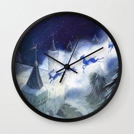 December's Tale Wall Clock