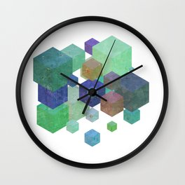 Fly Cube N1.5 Wall Clock