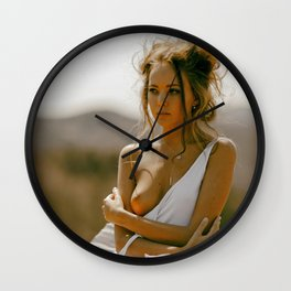 Broken Doll XIV Wall Clock