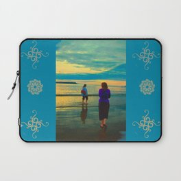 Beach Chillaxing Laptop Sleeve