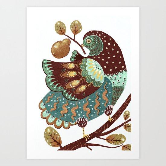 A Partridge In A Pear Tree II by angelarizza