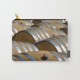 Barrels Of Wine Carry-All Pouch