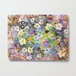 Floral Fantasia I Metal Print