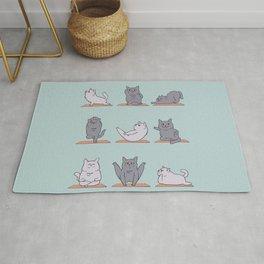British Shorthair Cat  Yoga Rug