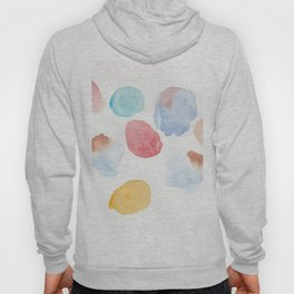180807 Abstract Watercolour 15  Colorful Abstract  Modern Watercolor Art Hoody
