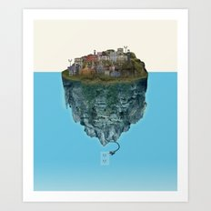 Island Lights Art Print