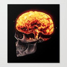 Mind Blown Canvas Print