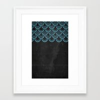 scales Framed Art Prints featuring Scales  by Last Call