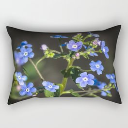 Forget-me-not Rectangular Pillow