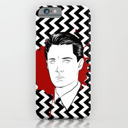 special agent iPhone Case