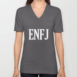 ENFJ Personality Type Unisex V-Neck