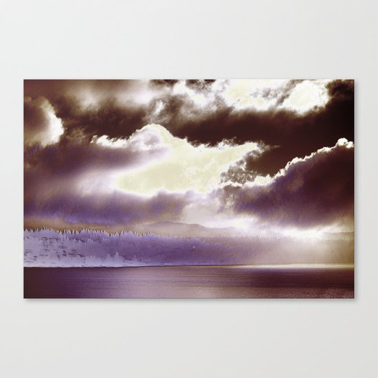Sky Ring Canvas Print