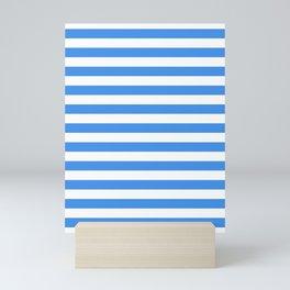 Micronesia San Marino Somalia Nicaragua flag stripes Mini Art Print