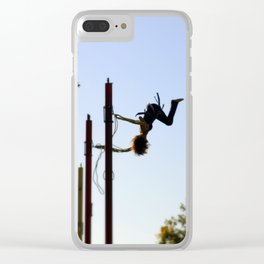 Bungee Jump Clear iPhone Case