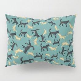 Romeo the wolf & Juliet Pattern Pillow Sham