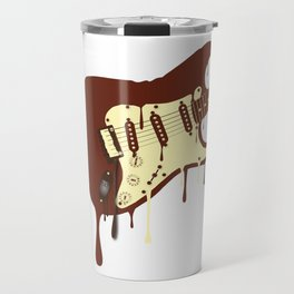 Melting Chocolate Guitar Travel Mug