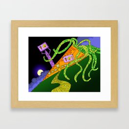 #91: House of Carrot Framed Art Print
