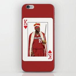 King Lebron iPhone Skin