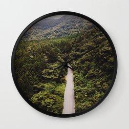 Japan Woods Wall Clock