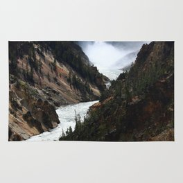 Grand Canyon of theYellowstone Rug
