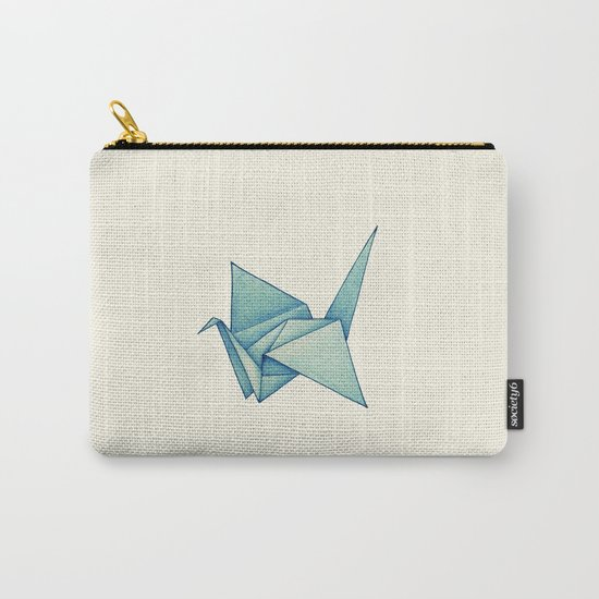 High Hopes | Origami Crane Carry-All Pouch