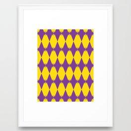 Triple Triangles II Framed Art Print