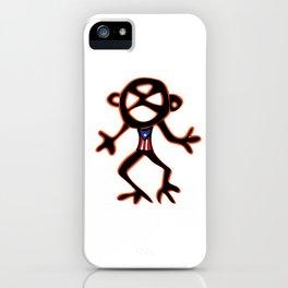 PUERTO RICO Taino Symbols iPhone Case