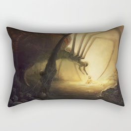 Spidermother Rectangular Pillow
