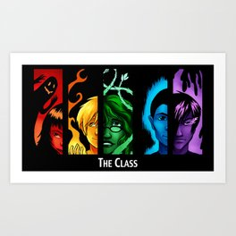 The Class Bookmark Print Art Print