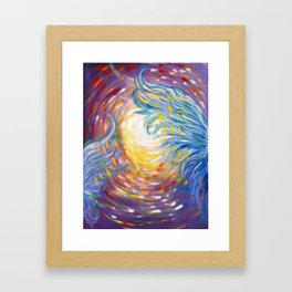 Holy! Framed Art Print