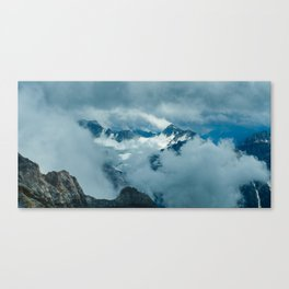 Rocky Mountain Clouds Canvas Print