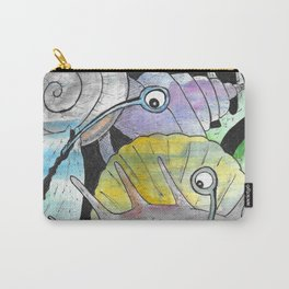Who's that Snail? Carry-All Pouch