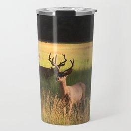 Bucks in the Meadow Travel Mug