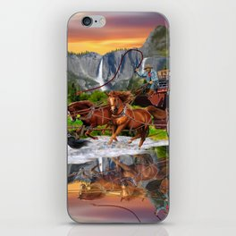 Wells Fargo Stagecoach iPhone Skin