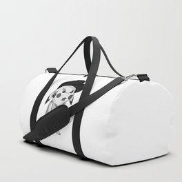 Punk rock Pika Duffle Bag