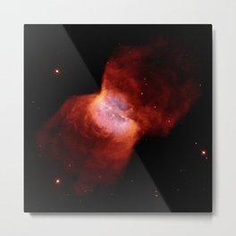 Hubble Space Telescope - NGC 2346, a Planetary Nebula Around Binary Stars (1999) Metal Print