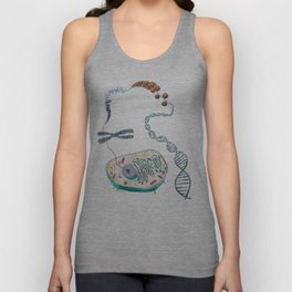 Cell to Helix Unisex Tank Top