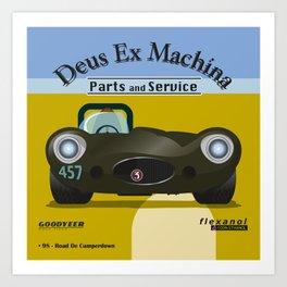 Deus Ex Machina Art Print