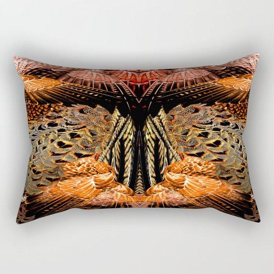 Butterfly Wings Pattern Rectangular Pillow