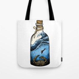 Deep blue bottle Tote Bag
